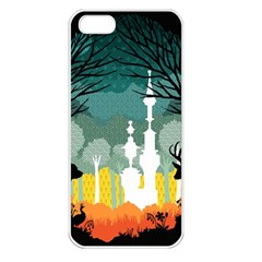A Discovery In The Forest Apple Iphone 5 Seamless Case (white)