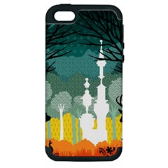 A Discovery In The Forest Apple Iphone 5 Hardshell Case (pc+silicone)