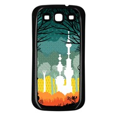A Discovery In The Forest Samsung Galaxy S3 Back Case (black)
