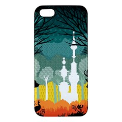 A Discovery in the Forest iPhone 5S Premium Hardshell Case