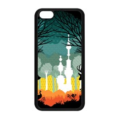A Discovery in the Forest Apple iPhone 5C Seamless Case (Black)