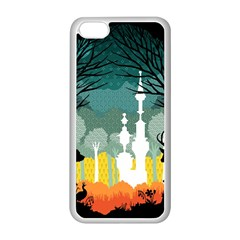 A Discovery in the Forest Apple iPhone 5C Seamless Case (White)