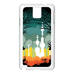 A Discovery In The Forest Samsung Galaxy Note 3 N9005 Case (white)