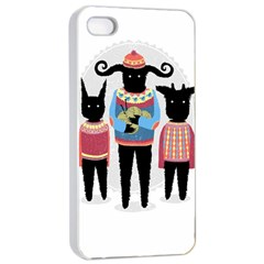 Nightmare Knitting Party Apple Iphone 4/4s Seamless Case (white)