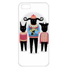 Nightmare Knitting Party Apple Iphone 5 Seamless Case (white)