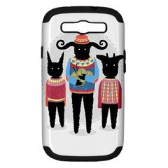 Nightmare Knitting Party Samsung Galaxy S Iii Hardshell Case (pc+silicone)