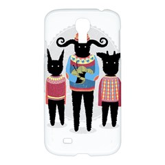 Nightmare Knitting Party Samsung Galaxy S4 I9500/I9505 Hardshell Case