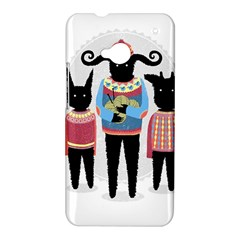 Nightmare Knitting Party HTC One Hardshell Case