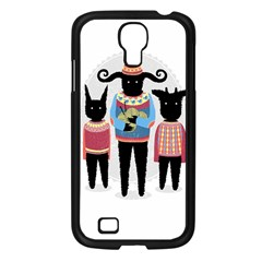 Nightmare Knitting Party Samsung Galaxy S4 I9500/ I9505 Case (Black)