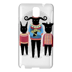Nightmare Knitting Party Samsung Galaxy Note 3 N9005 Hardshell Case