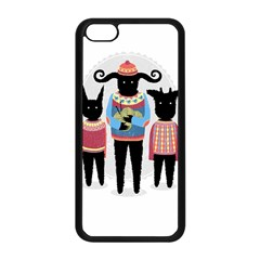 Nightmare Knitting Party Apple Iphone 5c Seamless Case (black)