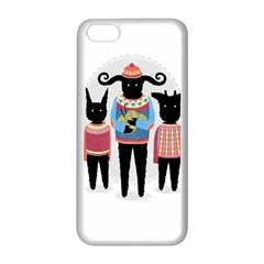 Nightmare Knitting Party Apple Iphone 5c Seamless Case (white)