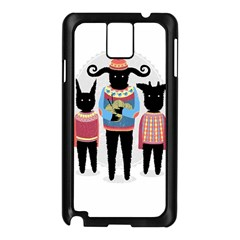 Nightmare Knitting Party Samsung Galaxy Note 3 N9005 Case (Black)