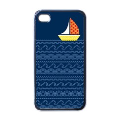 Sail The Seven Seas Apple Iphone 4 Case (black)