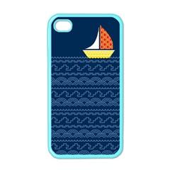 Sail the seven seas Apple iPhone 4 Case (Color)