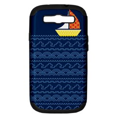 Sail The Seven Seas Samsung Galaxy S Iii Hardshell Case (pc+silicone)