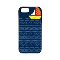 Sail The Seven Seas Apple Iphone 5 Classic Hardshell Case (pc+silicone)