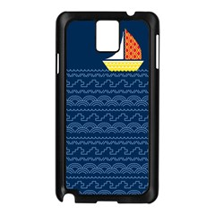 Sail the seven seas Samsung Galaxy Note 3 N9005 Case (Black)