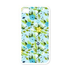 Flower Bucket Apple Iphone 4 Case (white)