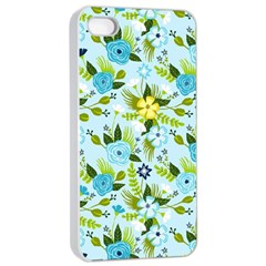 Flower Bucket Apple iPhone 4/4s Seamless Case (White)