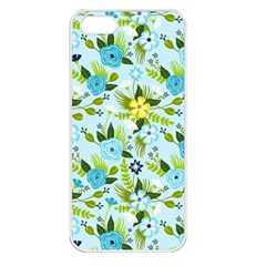 Flower Bucket Apple Iphone 5 Seamless Case (white)