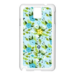 Flower Bucket Samsung Galaxy Note 3 N9005 Case (White)