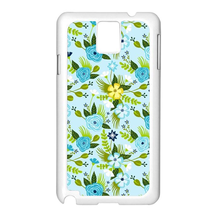 Flower Bucket Samsung Galaxy Note 3 N9005 Case (White)