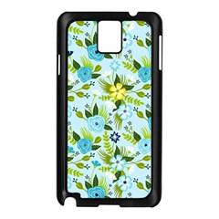 Flower Bucket Samsung Galaxy Note 3 N9005 Case (Black)