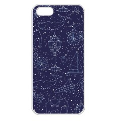 Constellations Apple iPhone 5 Seamless Case (White)