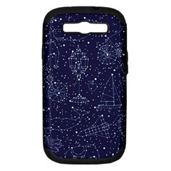 Constellations Samsung Galaxy S Iii Hardshell Case (pc+silicone)