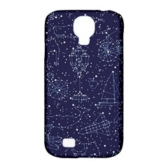 Constellations Samsung Galaxy S4 Classic Hardshell Case (pc+silicone)