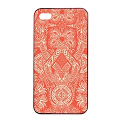 Magic Carpet Apple iPhone 4/4s Seamless Case (Black)
