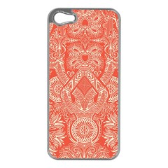 Magic Carpet Apple iPhone 5 Case (Silver)