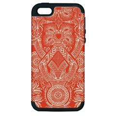 Magic Carpet Apple Iphone 5 Hardshell Case (pc+silicone)