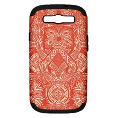 Magic Carpet Samsung Galaxy S Iii Hardshell Case (pc+silicone)