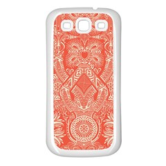 Magic Carpet Samsung Galaxy S3 Back Case (White)