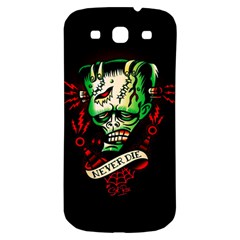 Never Die Samsung Galaxy S3 S III Classic Hardshell Back Case