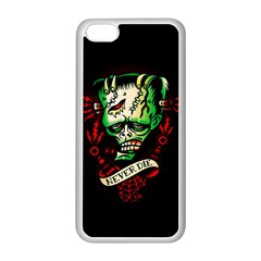 Never Die Apple Iphone 5c Seamless Case (white)