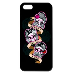 Skull Beauties Apple Iphone 5 Seamless Case (black)