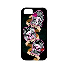 Skull Beauties Apple iPhone 5 Classic Hardshell Case (PC+Silicone)