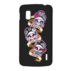 Skull Beauties Google Nexus 4 (LG E960) Hardshell Case