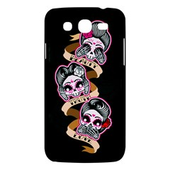 Skull Beauties Samsung Galaxy Mega 5.8 I9152 Hardshell Case