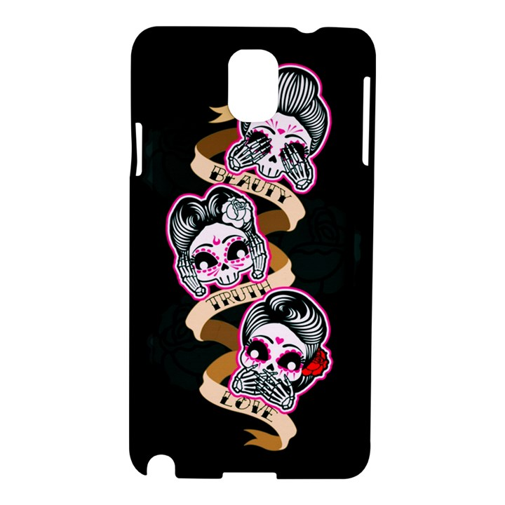 Skull Beauties Samsung Galaxy Note 3 N9005 Hardshell Case