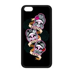 Skull Beauties Apple iPhone 5C Seamless Case (Black)