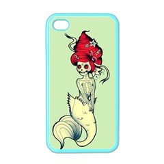 Once a Mermaid Apple iPhone 4 Case (Color)