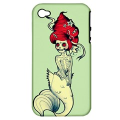 Once a Mermaid Apple iPhone 4/4S Hardshell Case (PC+Silicone)
