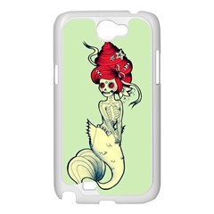Once a Mermaid Samsung Galaxy Note 2 Case (White)