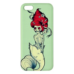 Once a Mermaid iPhone 5S Premium Hardshell Case