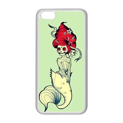 Once A Mermaid Apple Iphone 5c Seamless Case (white)