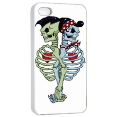 Love Me Forever Apple Iphone 4/4s Seamless Case (white)